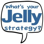 What's your Jelly strategy - speech bubble