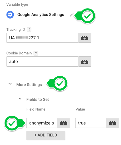 How to switch your Google Analytic tracking code to Anonymize IP in Google Tag Manager